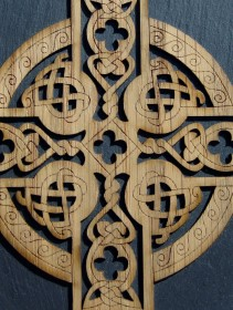 Celtic plaque