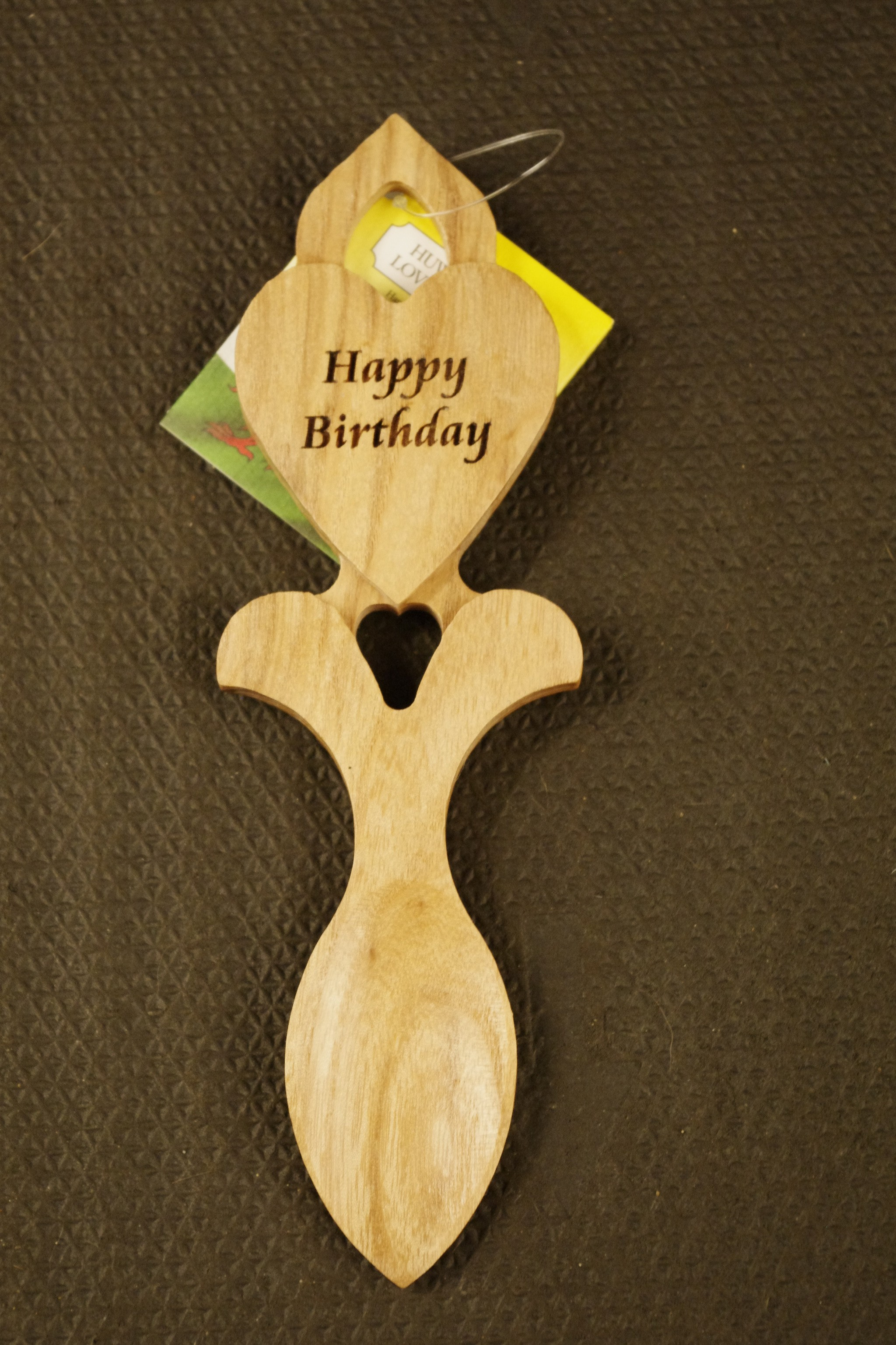 Welsh Love Spoon Happy Birthday Welsh Gifts And Crafts
